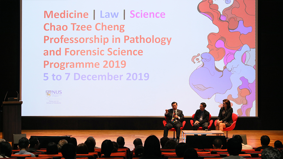 Of forensic science, medicine and pathology